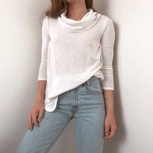 Tommy Hilfiger lightweight knit cowl neck sweater